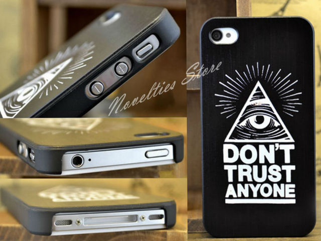 Painted Harajuku Punk Style Triangle Eye Lovers Hard Case Cover for iPhone 4 4s, iPhone 5. Paisley Retro Case Cover for iPhone 5