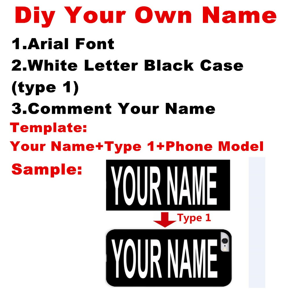 Diy Custom Your Personal Name Letters Printed accessories case Cover for One Plus x 2 3 Motorola G G2 G3 X G4 Play Plus LG G3 G5