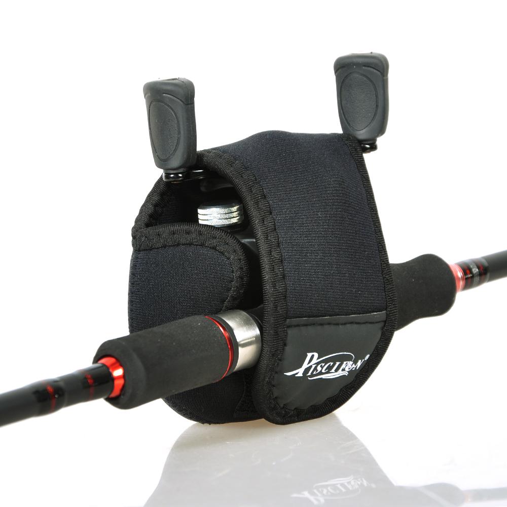 High Quality Nylon Carcia Spinning Wheel Baitcasting Fishing Reel Bag Protective Case Fishing Tackle Black(China (Mainland))