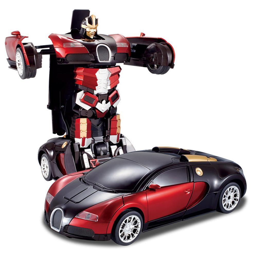 2015 New Rc Car Optimus Prime Bumblebee Transformation Remote Control Deformation Robots Brinquedos Kids Toys Gift Cars