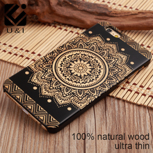 Hot Selling 100% Natural Wood+PC Hard Case Cover for Apple IPhone 5 5s se 6 6s 6plus 6s plus 4.7inch Many Kind of Design(China (Mainland))
