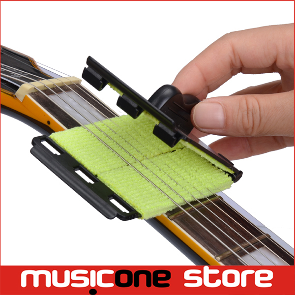 String Scrubber Fingerboard Cleaner for Guitar Bass Stringed Instrument Guitar Parts & Accessories(China (Mainland))