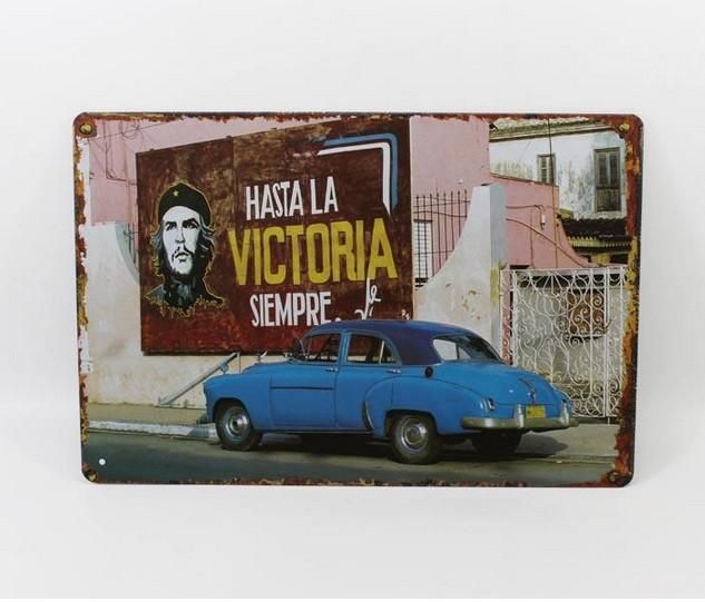 Vintage Retro Blue ROLLS ROYCE Car Tin Metal Sign Garage Decor F485(China (Mainland))
