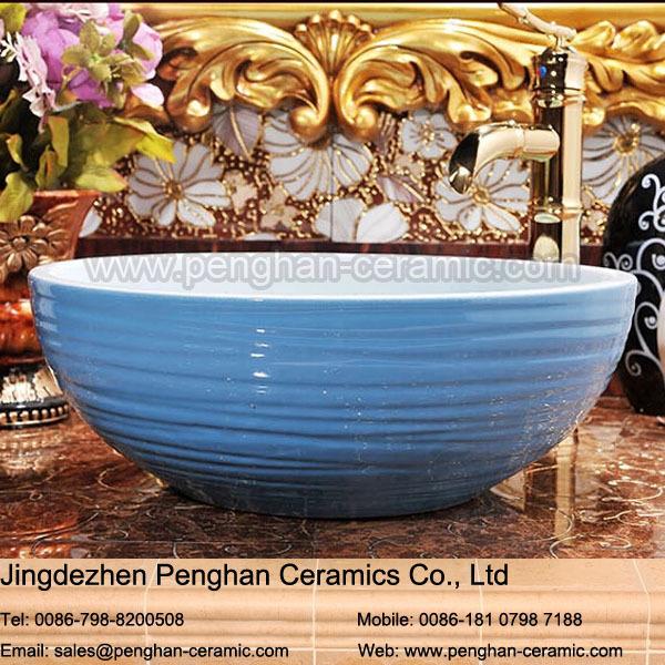 Lavabo Para Baño Antiguo:Moda-travertino-antiguo-lavabo-cerámica-lavabo-lavabo-de-baño-del