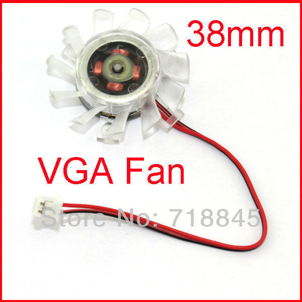 1 Lot =10pcs Lot 2pin 40mm 4cm Fan For PC VGA Video Card Cooling Heatsink