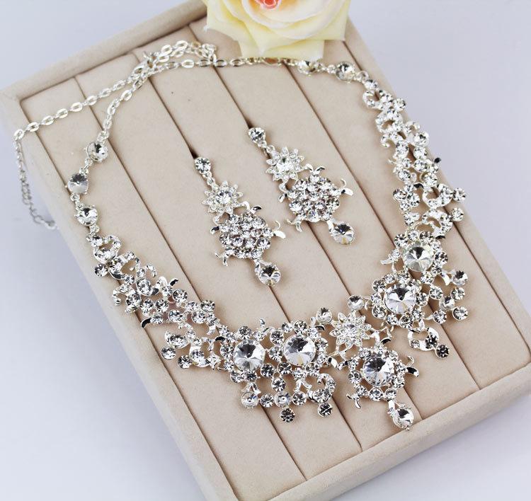 Sets, Rhinestone Wedding Accessory Bridal Jewelry christmas gift ...