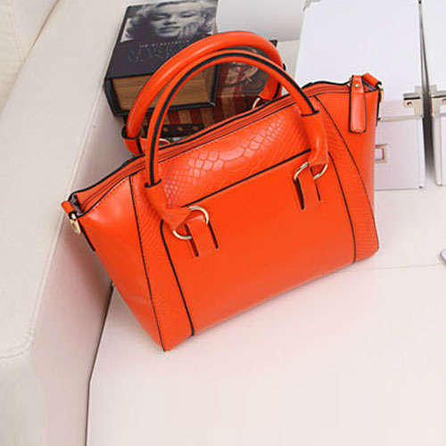 Fashion women Leather handbags PU Leather bags women handbag brief crocodile pattern shoulder bags women messenger bags 802bag