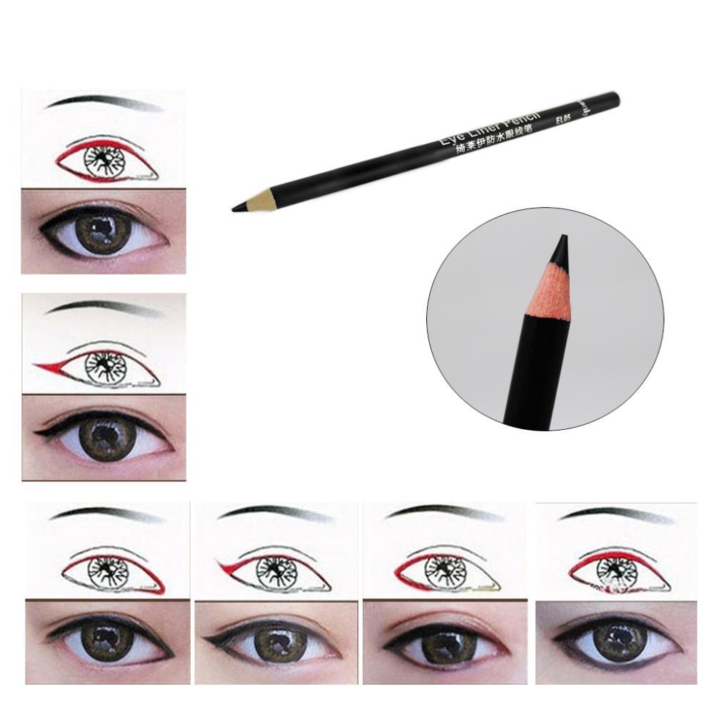 Фото карандаш для глаз макияж