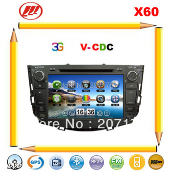 Free shipping !!  Lifan X60 Car DVD GPS with 3G USB Host Radio TV  V-CDC SWC Bluetooth iPOD USB/SD/ Russian Menu+Free 4G Map !!