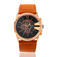 New Arrival V6 Brand Big Dial Belt Women Watch Military Fashion Watches of High Quality Quartz