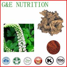 100% Natural Black Cohosh Extracts, Black Cohosh Root Extraction powder 10:1 400g(China (Mainland))