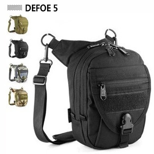 + 2015 New Sports Shoulder Bag Messenger Mobile Travel Packages Advance Defense Ultralight Tactical - DEFOE 5 Outdoors store