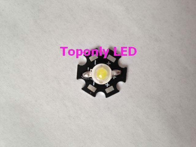 Здесь можно купить  3w high power led with star PCB,CCT 20000k,220-240lm,made by 45mil USA bridgelux chips,led parts for DIY using,free shipping 3w high power led with star PCB,CCT 20000k,220-240lm,made by 45mil USA bridgelux chips,led parts for DIY using,free shipping Свет и освещение