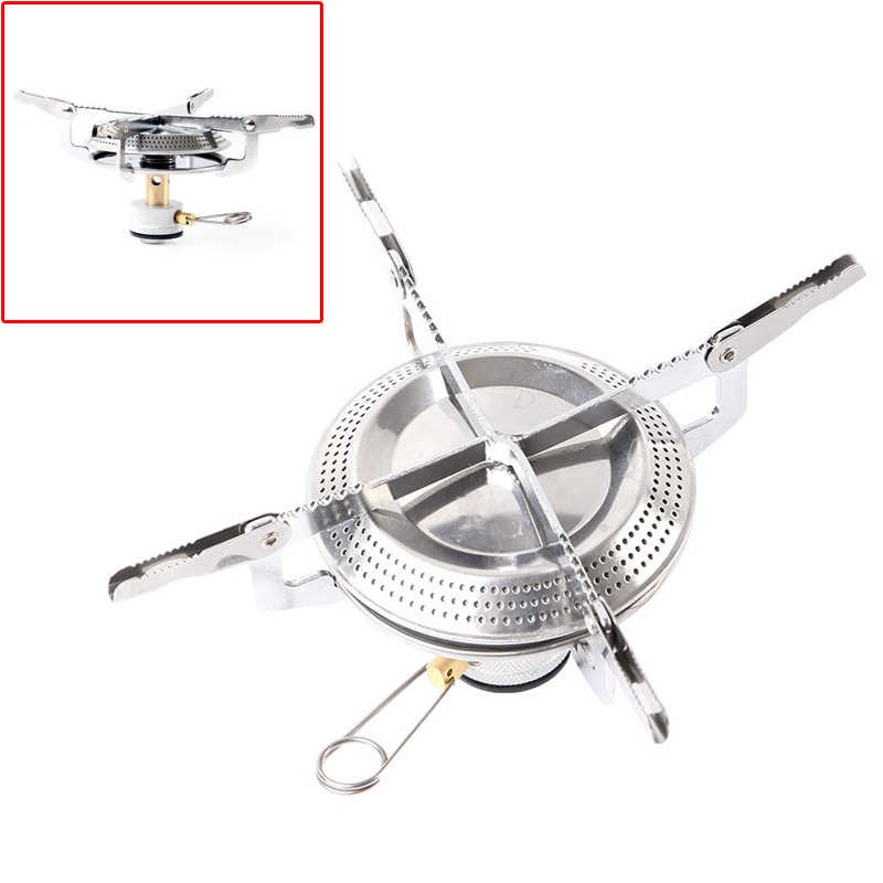 Portable Stainless Steel Camping Stove Picnic Stove Cookout Cookware cooker Freeshipping Dropshipping Wholesale(China (Mainland))