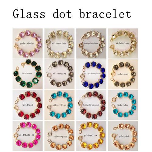 Crystal Bracelet Online Crystal Nine Dot Bracelet