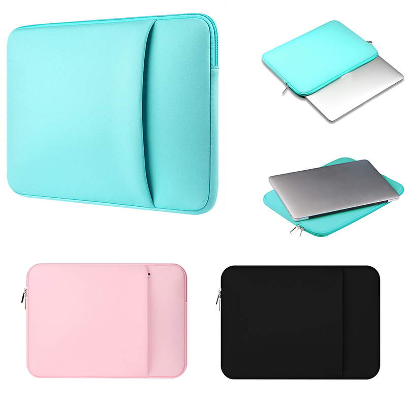 "Solid Neoprene Laptop Case Sleeve Bag Notebook Puch for Macbook Pro Retina 15. 4 "" 15.6 "" 15 "" For ASUS ACER HP DELL for Lenovo(China (Mainland))"