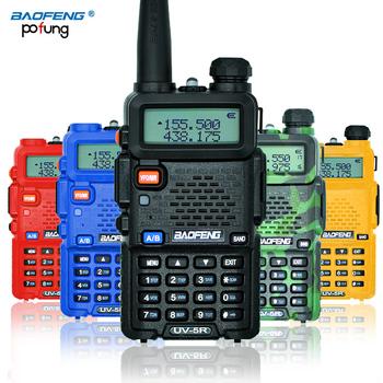 BaoFeng UV-5R CB radio long range professional walkie talkie transceiver baofeng uv 5r uv5r 5W VHF UHF Dual Band two way radio