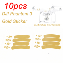 10sets Logo Stickers For Drone with camera DJI Phantom 3 2 Vision+ RC Quadcopter Decal Skin Decoration Strip Ring Free shipping