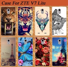 ZTE Blade V7 Lite Stand Eiffel Tower Rose Flower Cute Animal Stylish case cover COOL Printing Fashion v7 - Case Factory store
