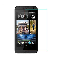 0.3mm Tempered Glass for HTC Desire 610 9H Hard 2.5D Arc Edge High Transparent Screen Protector with Clean Tools