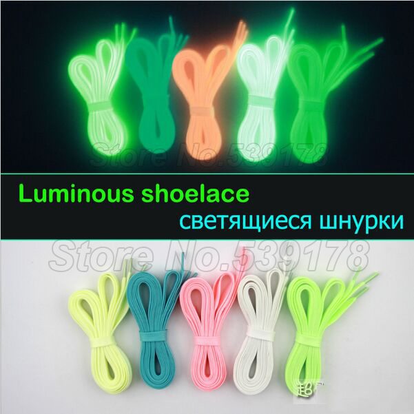 Luminous shoelace glow casual led shoes Strings Athletic Shoes Party Camping shoelaces for growing shoes canvas shoes(China (Mainland))