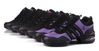 новые 2015 обувь для девочек спортивные мягкая подошва дыхание женщин практике обувь современный джазовый танец Обувь кроссовки для танцев плюс размер 41 42