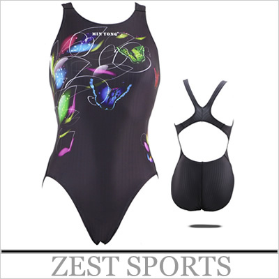 Export Quality,Butterfly pattern women piece swimsuit/swimwear,competitions,Training ,tight, high-quality fabrics(China (Mainland))