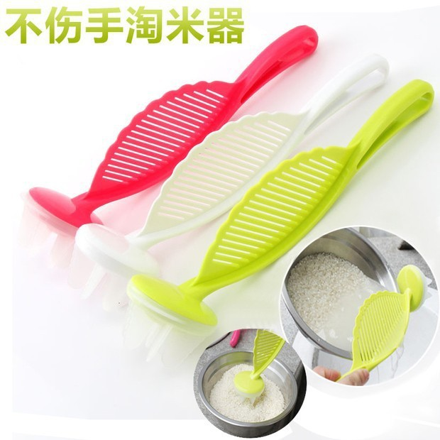 HOT SALE!Practical cleaning rice washing agitator and leachate sieve filter drainer kitchen cooking tools(China (Mainland))