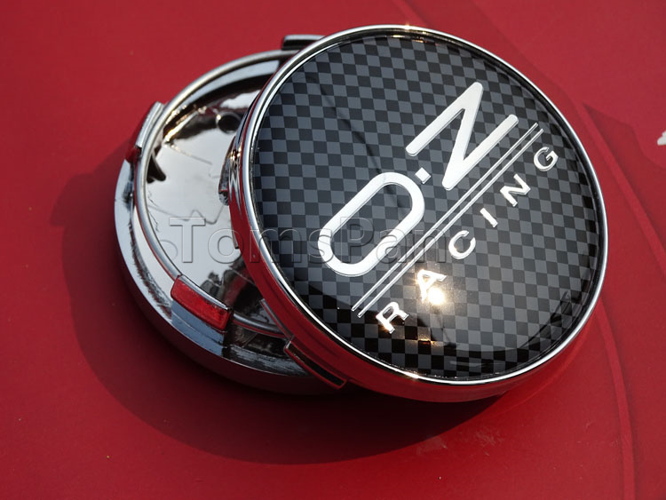 High quality 4pcs/lot 60mm OZ Racing ABS plating auto Car Wheel Center cover Hub Cap Emblem badge For audi vw Hunydai hubcaps(China (Mainland))