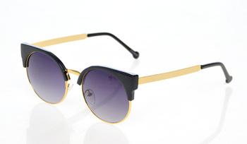 New 2015 Cat Eye Vintage Sunglasses Women Top Fashion Girls Summer  Retro Round Sun Glasses Cat Eye Gafas Oculos Casual Shades