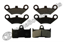 3 Set 6PCS Front Rear Brake Pad  CF Moto CFMoto CF500 500 500CC  CF600 600 600CC X5 X6 X8 U5 ATV UTV Shineary(China (Mainland))