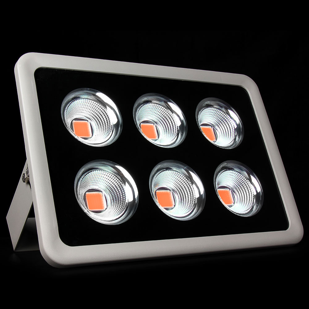 10pcs Full Spectrum COB Led Grow Lights 300W 400W Led Flood Light Outdoor Lighting for Greenhouse Hydroponics System 380-840nm(China (Mainland))