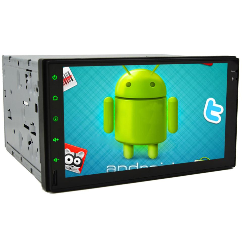 2 Din Android 4.2.2 Full-Touch Car PC Tablet double 2din Audio 7'' GPS Navi Car Stereo Radio No-DVD mp4 Player Bluetooth iPod(China (Mainland))