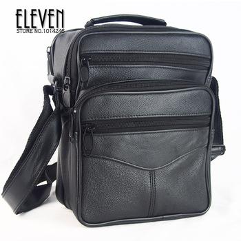 Дизайнер мужчины плечо сумки натуральная кожа сумки для мужчины посланник бизнес ...