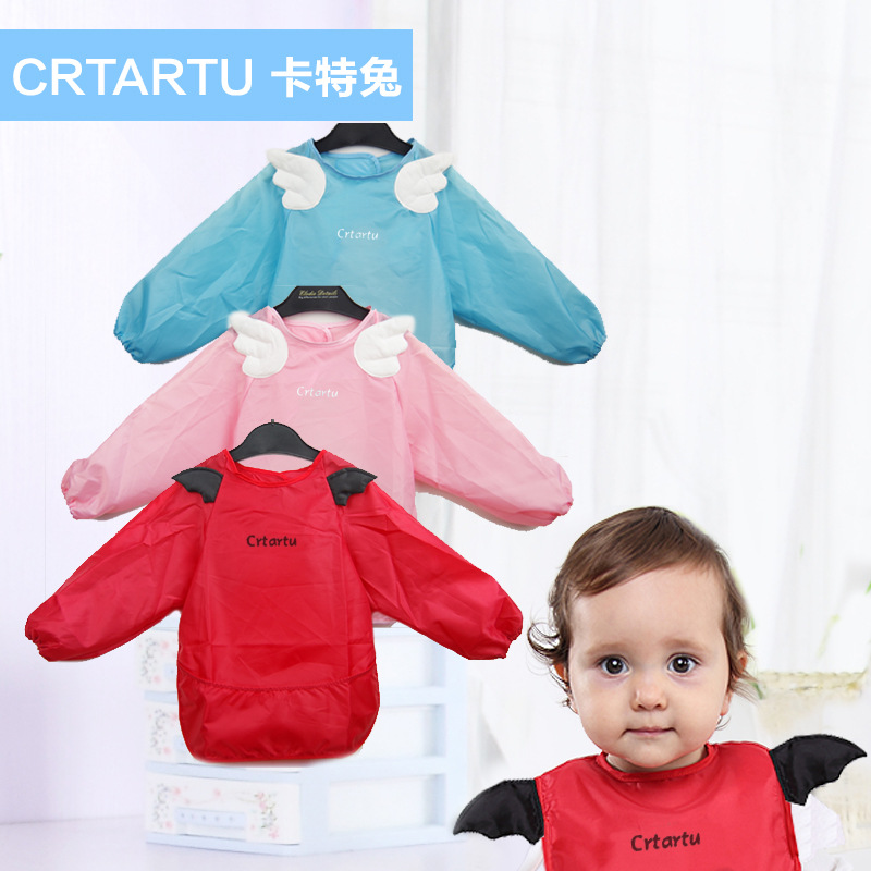 Personality Baby Bibs Newborn Waterproof Clothing Feeding Accessories Children's Dribble Apron Kids Clothes Cotton Burp Cloth(China (Mainland))