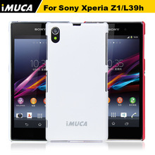 Buy iMUCA Cover Sony Xperia Z1 cases Sony C6906 C6903 C6902 C6943 L39H phoen cases back cover hybrid hard capa coque for $5.48 in AliExpress store