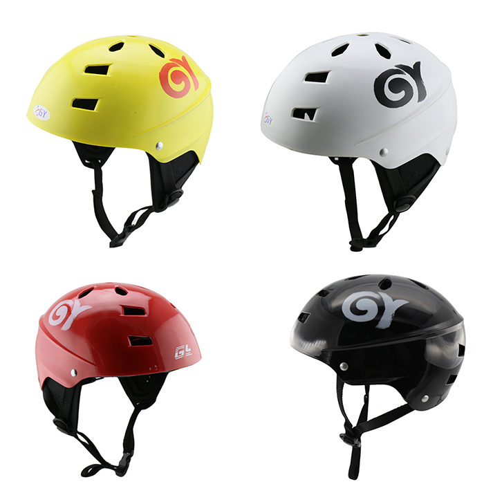 GY best selling kayak helmet with black/white/yellow/red color,Applicable to water sports.(China (Mainland))