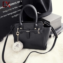 Xianjian famous designer tote bag with fur ball charms   (XJNB0225)(China (Mainland))