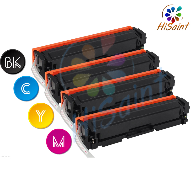 Фотография Free shipping 2016 New [Hisaint] 201X Toner for HP Color LaserJet Pro M252dw M252n MFP M277dw M277n, w/ CHIP
