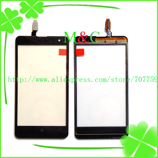 10pcs/lot Original Touch Screen For Nokia lumia 625 N625 With LCD Digitizer Glass Black New Free Shipping+Tracking