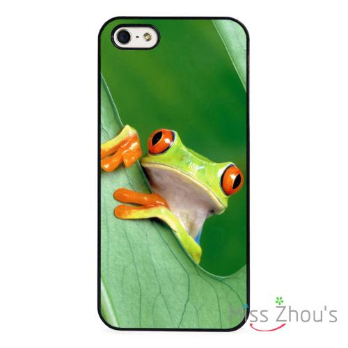 Forest Frog Nature protective back skins mobile font b cellphone b font cases cover for iphone
