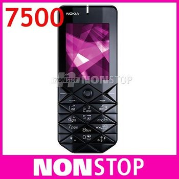 7500 Original Nokia 7500 Prism Unlock Cell Phones Bluetooth FM JAVA In Stock