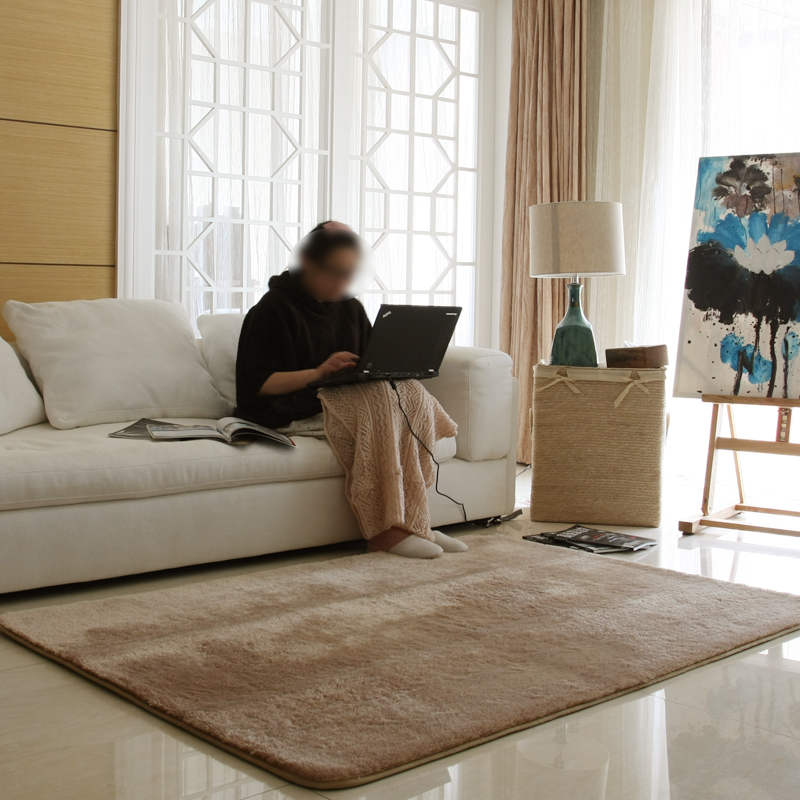 Custom 140x200cm Rugs And Carpets For Living Room Modern Shaggy Rug Bedroom Floor Carpet Area