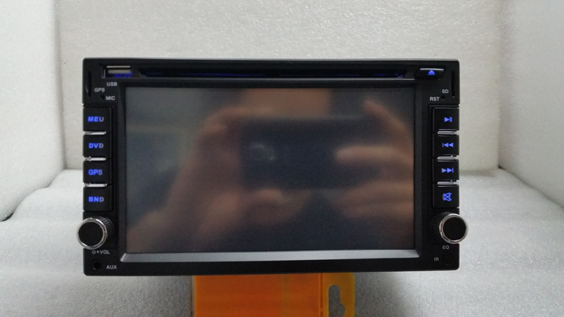 ( 178mm*102mm ) 2din universal Car dvd player Radio Double 2 din Car DVD Player GPS Navigation In dash, Free shipping(China (Mainland))