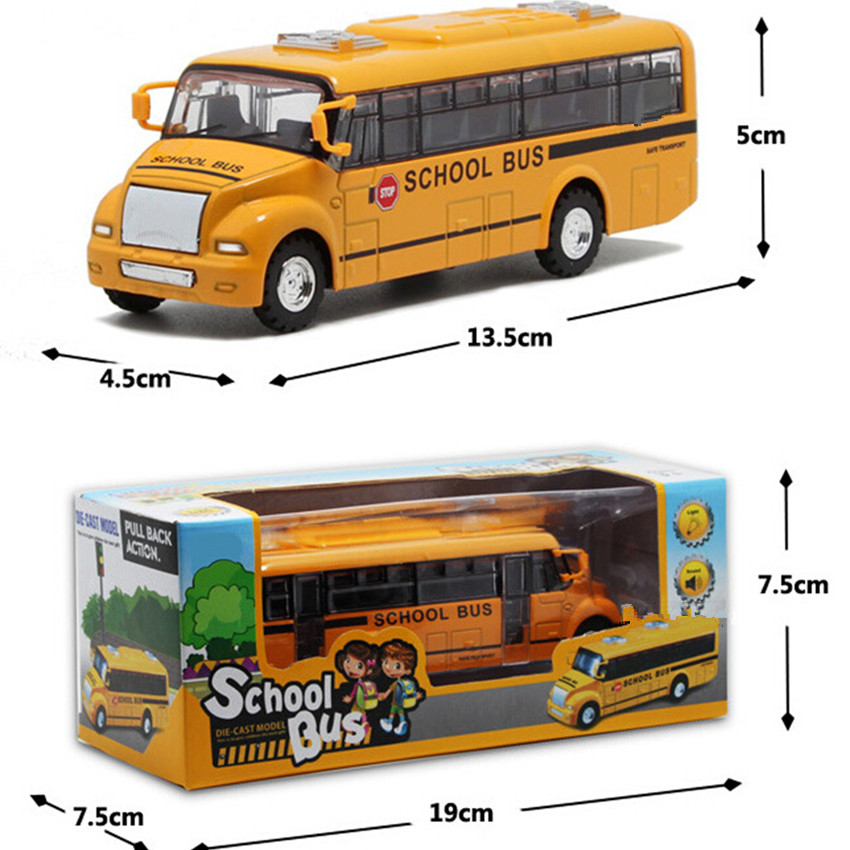 Free Shipping 2015 New Arrival 1:32 Scale American School Bus Kids Toys, Novelty Alloy Bus Car Model Toys for Children's Gift(China (Mainland))