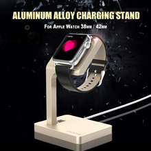 2015 NEW for Apple Watch Charging USAMS Aluminum Alloy Charging Stand for Apple Watch 38mm / 42mm(China (Mainland))