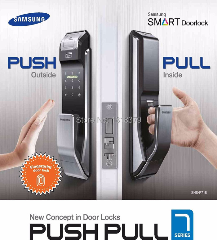 samsung digital door lock shs-p718 fingerprint 2