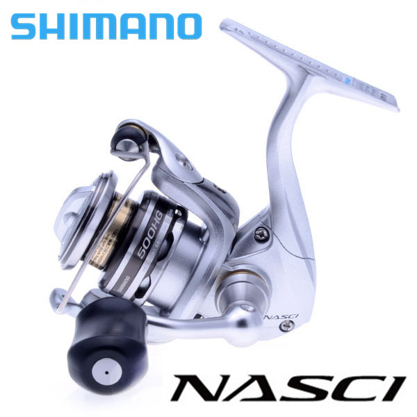 100% Original Shimano Brand NASCI 500HG 4BB 5.6:1 Spinning Fishing Reel with X-SHIP System Freshwater Lure Fishing Wheel(China (Mainland))