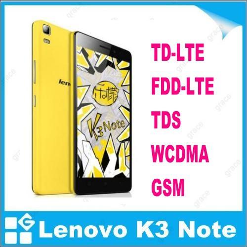 "100% original lenovo K3 note Teana lenovo k50-t5 4G FDD LTE smart phone 5.5""1920x1080 MTK6752 Octa Core 2GB RAM 16GB ROM(China (Mainland))"