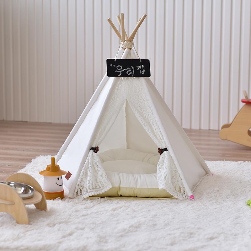 achetez en gros lit pour chien en bois en ligne des grossistes lit pour chien en bois chinois. Black Bedroom Furniture Sets. Home Design Ideas
